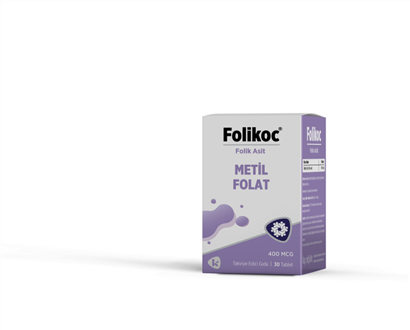 Folikoc - Methyl Folat 400 mcg 30 tablet