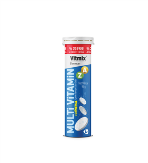 Vitmix Multivitamin Efervesan 24 Tablet